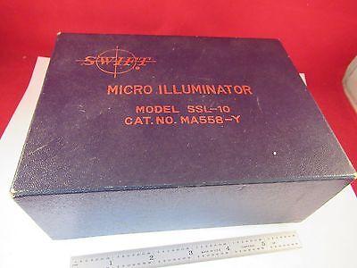 Swift Micro Illuminator Lamp Microscope Part Optics As Is A7-e-05