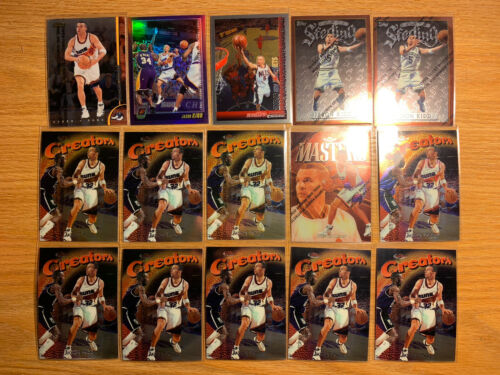 Very Nice Jason Kidd 31 Card Lot Topps Chrome, Finest, Inserts, Refractors  - $3.75