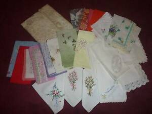 Vintage women's handkerchiefs Newcastle Newcastle Area Preview