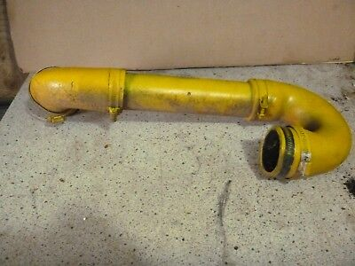 Minneapolis Moline Air Cleaner Cross Over Pipe With Hoses For M670 Super
