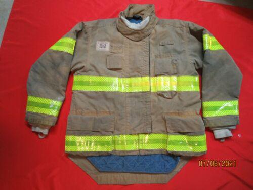 MFG. 2013 MORNING PRIDE 44 x 29/35 DRD Firefighter Turnout Bunker JACKET  FIRE
