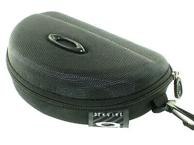 Oakley Black Large Eyeglass Sunglasses sports case with zipper for sale  Shipping to India