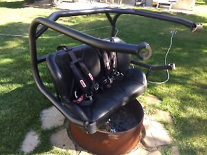 Rear can-am commander seat
