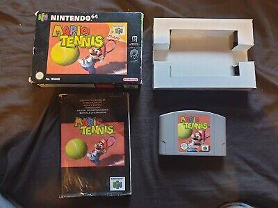 MARIO TENNIS Nintendo 64 Game N64