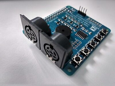 Pi1541 floppy disk drive emulator hat for Commodore computers (Assembled)