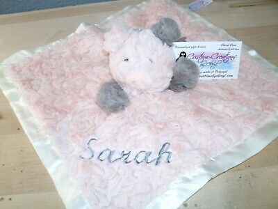 Putty Pig  Animal Blanket Personalized Security Blanket Baby Blankie So (Personalized Pig)