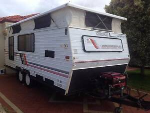 Coromal pop top caravan 1990 Darch Wanneroo Area Preview