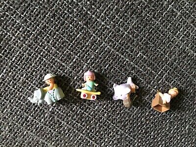 polly pocket vintage Lot Pour Bague 1991
