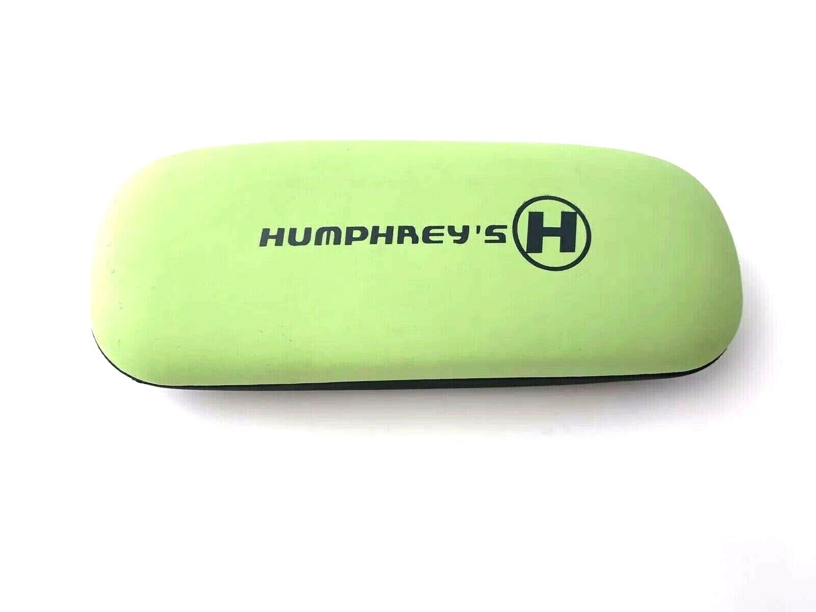 New Humphrey's Clamshell Hard Case Eyeglasses Sunglasses G