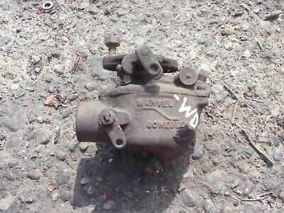 Allis Chalmers Wd Styled Wc Ac Tractor Carburetor Assembly