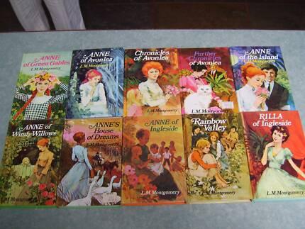 Anne of Green Gables - 10 books