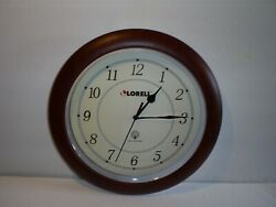 Lorell Radio Controlled 13.5 Quartz Wall Clock Number 60986
