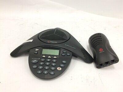 Polycom Soundstation 2 Expandable Conference Phone 2201-16200-601 W Wall Module