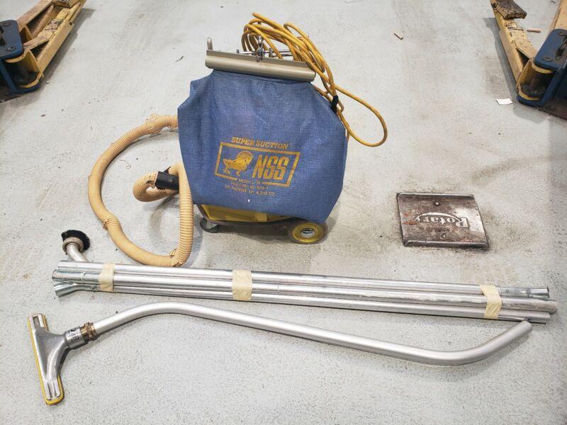 Vintage National Super Service NSS M-1 Pig industrial Vacuum