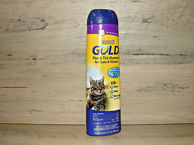 Sergeant's Gold Flea and Tick Shampoo for Cats and Kittens 12 fl oz **NEW** ^^^