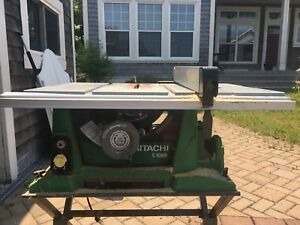 Hitachi 10 inch table saw