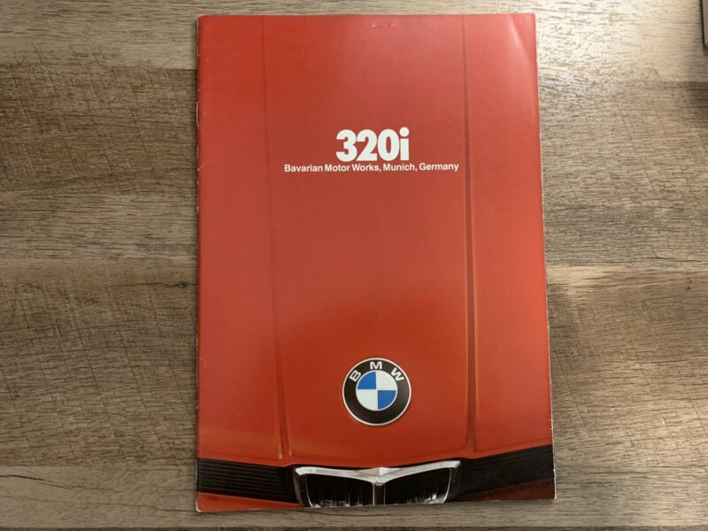 Bmw E21 3 Series Brochure Booklet
