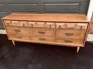 SOLID WOOD 9 DRAWER MCM