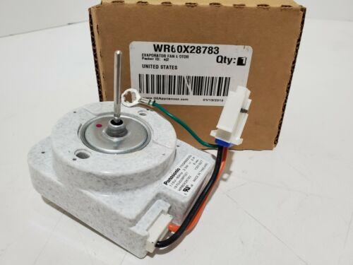 Wr60x28783 Ge Refrigerator Evaporator Fan Motor *new Oem Part*