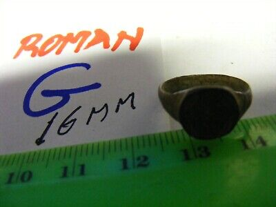 Ancient Roman/Byzantine  Bronze Ring,   16mm size inside.(G) .