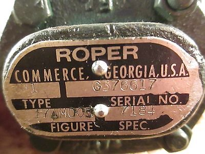 Roper 17am005 Pump Type 1 Spec 7184  38 Fpt Ports Nos