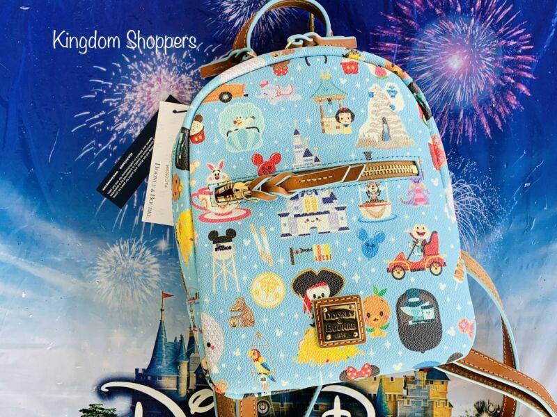 2021 Disney Parks Dooney & Bourke Jerrod Maruyama A Walk In The Park Backpack B