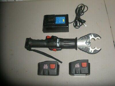 Cembre B54 Hydraulic Compression Crimper Wcharger 2 Batteries