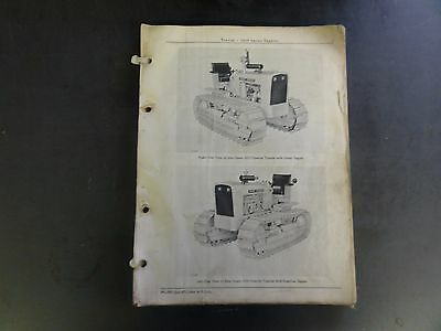 John Deere 1010 Series Crawler Tractor Parts Catalog Pc-727  67
