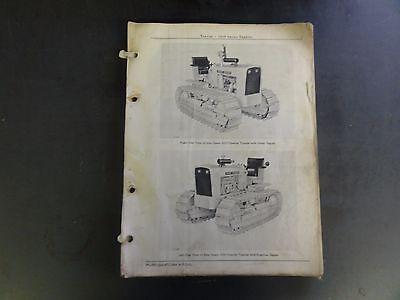 John Deere 1010 Series Crawler Tractor Parts Catalog Pc-727  67