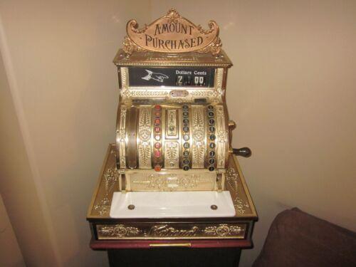 Antique National Cash Register Model415