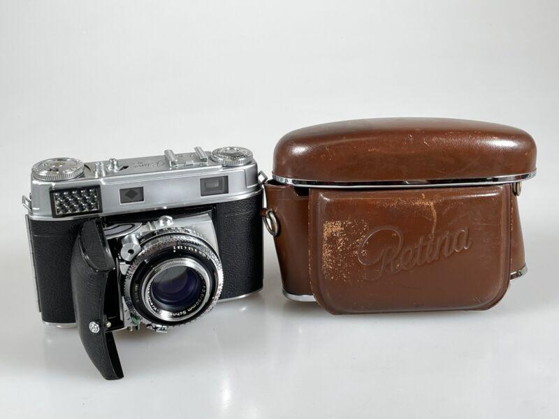 Kodak Retina IIIc 35mm Rangefinder Camera Schneider Xenon 50mm F2 Lens