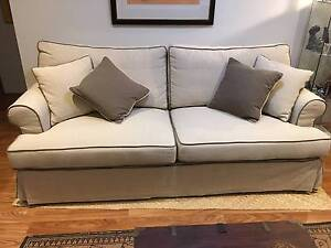 LINEN THREE SEAT SOFA Burleigh Waters Gold Coast South Preview