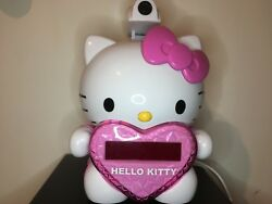 HELLO KITTY AM/FM Projection alarm Clock Radio with LED Time Display digital