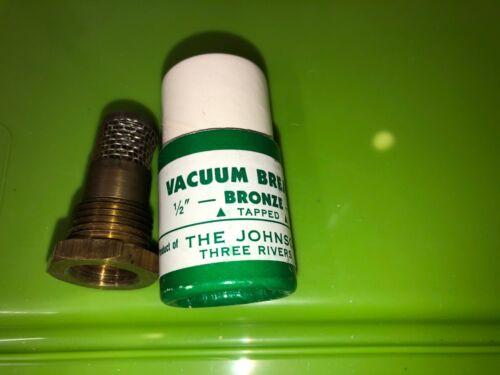 "The Johnson Corporation VB8 Series Vacuum Breaker 1/2"" Bronze"