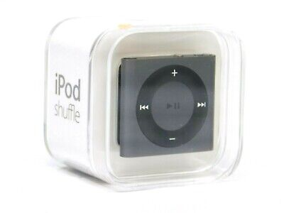 New Apple iPod shuffle 2GB MP3 Player Silver 4th Gen. MKMG2LL/A Factory Sealed