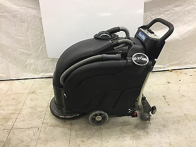 Used Powr-flite Pas17ba-bc Walk Behind Automatic Scrubber 17 Pad Driver Battery