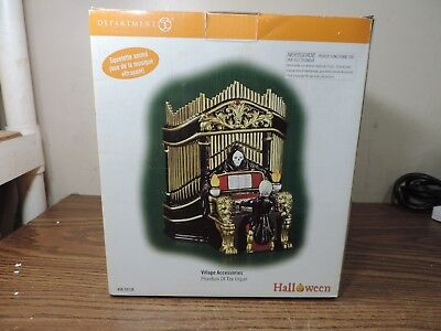 Phantom of the Organ, Department 56 53126 Mint 2003, Scary Music, Moves](Halloween Organ Music)