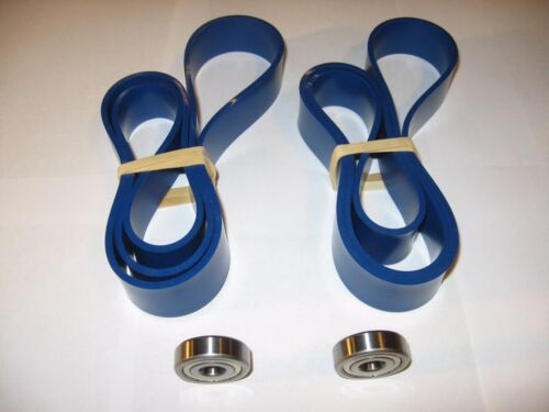 2 Blue Max Urethane Band Saw Tires And Thrust Bearings For Ryobi Bs901 Band Saw