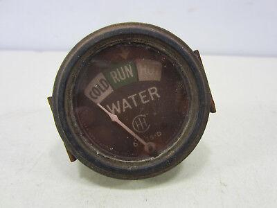 Vintage International Harvester Tractor Water Temperature Gauge