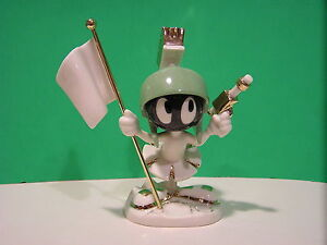 LENOX MARVIN the MARTIAN Figurine NEW in BOX w/COA Looney Tunes
