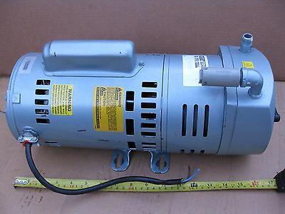 Gast 23r3-v311q-sg608x Rotary Vane Vacuum Pump Compressor 34hp 1ph 115208-230v