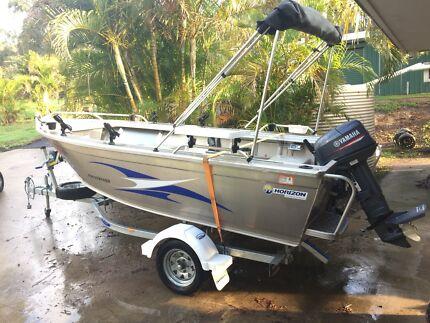Horizon Stryker 438 Tinny Fishing Boat