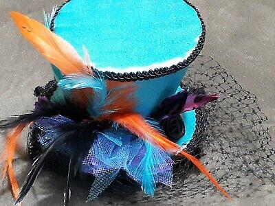 Mad Hatter Alice Mini Top Hat Cosplay Costume Ball Accessory Handmade DIY  ()