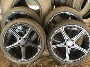 4x Advanti Racing Rims (20inch rims) with  5x tyres (includes spare) Binnaway Warrumbungle Area Preview