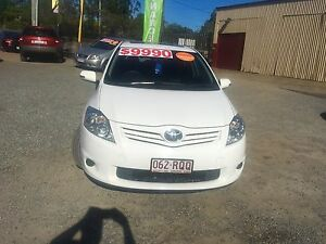 2011 Toyota Corolla Hatchback/AUTO/6 MONTHS REGO/RWC/WARRANTY Loganlea Logan Area Preview
