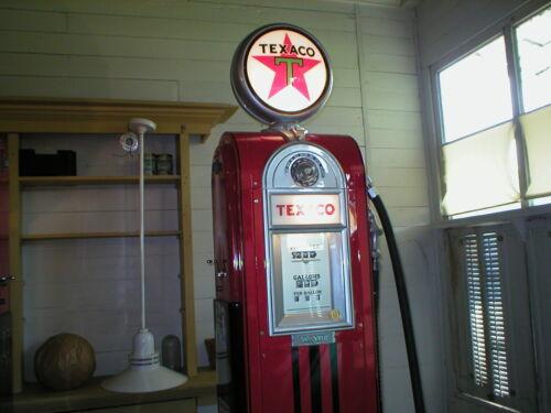 Vintage Circa 1937 Wayne 60 gas pump Texaco Restored! nut and bolt