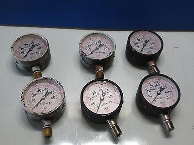 Toako Pressure Guage 70kg Max Mori Seiki Cnc Lathe Mill