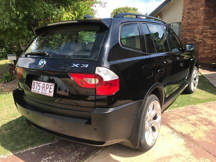 BMW X3 . 2004 . 125000 km. Good condition. Black / tan interior