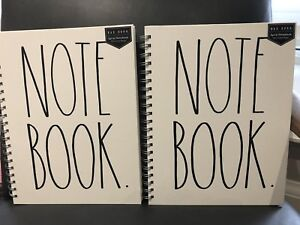 RARE DUNN NOTE BOOK - 160 PAGES