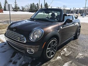 2009 Mini Cooper Convertible low km great shape